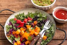 Fiesta Kale Salad | Foodal.com