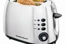 Hamilton Beach 2 slice metal toaster | Foodal
