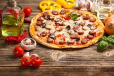 Homemade Camfire Brick Oven Pizza   Foodal.com