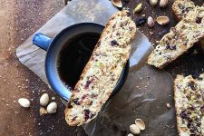 Italian Biscotti with Pistachios, Raisins, and Dried Cherries | Foodal.com