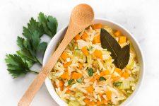 Lemon Orzo Soup Recipe Details | Foodal.com