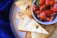 A Plate of Tortilla Chips with Fresh Salsa | Foodal.com