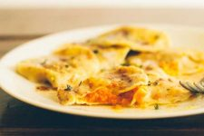 Roasted Carrot Ravioli in Thyme Brown Butter - Cover