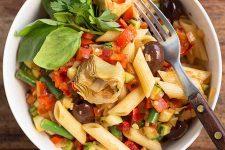 Sicilian Pasta Salad. | Foodal.com
