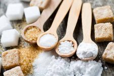 A display of various types of sugar. | Foodal.com