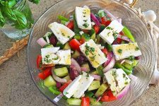 The Best Classic Greek Salad with Simple Ingredients and Fabulous Flavors | Foodal.com