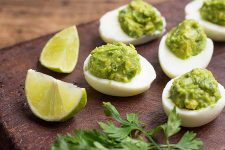 The Best Fresh Guac Deviled Eggs | Foodal.com
