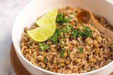 The Best Lentil and Brown Rice Salad | Foodal.com