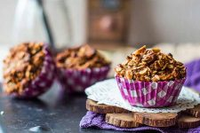 Vegan Oat Muffins with Dried Fruit and Nuts Recipe | Foodal.com