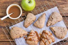 Caramel Apple Scones | Foodal.com