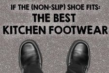 Kitchen Footwear with Text | Foodal.com
