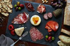 Meat and Cheese Board Paired with Fruits, Bread, Veggies | Foodal.com