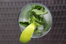 Tomatillo Mojito from Above | Foodal.com